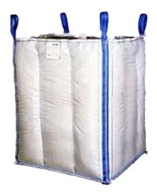 1.5 Ton 4 Baffle Panel Big FIBC Massal Bag Biru / Warna Jeruk Untuk Loading